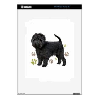 Black Affenpinscher Dog iPad 2 Decal