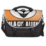 Black Afro Alien Laptop Computer Bag