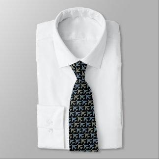 Black Airplane Tie Armani Greys