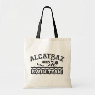Black Alcatraz Swim Team Tote