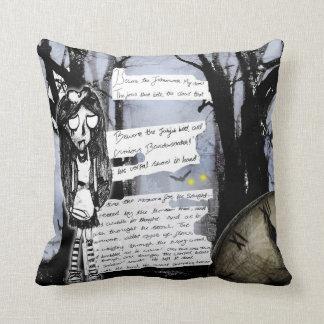 Black Alice Pillows