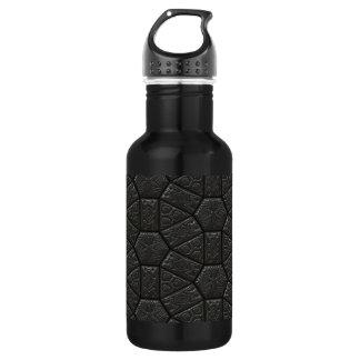 Black Alien Carved Design Stainless Steel Water Bottle