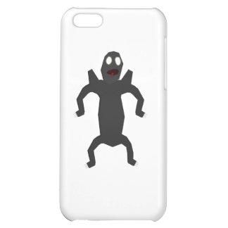 Black alien case for iPhone 5C