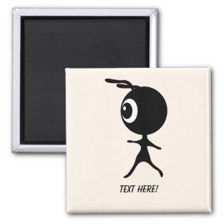 Black Alien Magnet