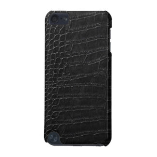 black alligator leather iPod touch 5G cover