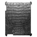 Black Alligator Skin Print mini iPad Case