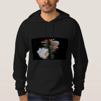 Black American Apparel  The Abstract Shine Hoodie