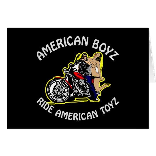 Black American Boyz Ride Am Toyz Card