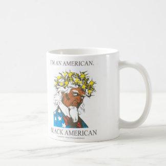 Black American Classic White Coffee Mug