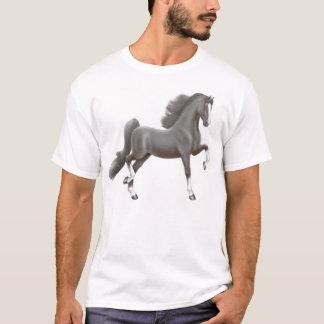Black American Saddlebred Horse T-Shirt