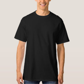 Black American Shine Design on Back T-Shirt