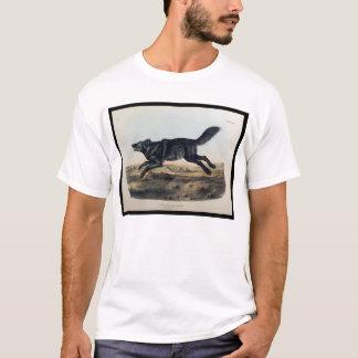 Black American Wolf T-Shirt