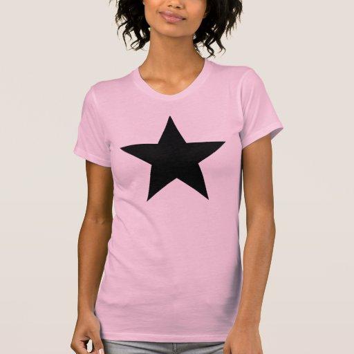 Black Anarchy Star (klassisch) Shirt