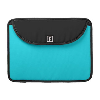 Black and Aqua Blue MacBook Pro Sleeve