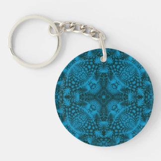 Black And Blue  Acrylic Keychains, 6 styles Keychain