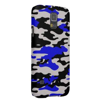 Black and Blue Camo Samsung Galaxy Nexus Cover
