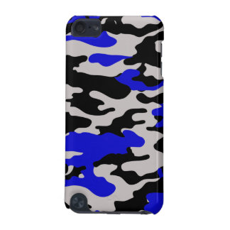 Black and Blue Camo - iPod touch Speck Case