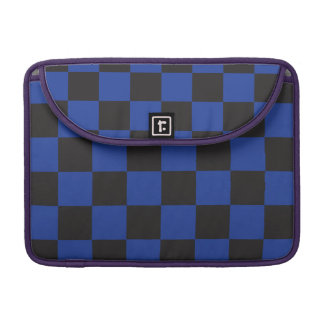 Black and Blue Checkers Sleeves For MacBook Pro