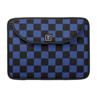 Black and Blue Checks Sleeve For MacBooks