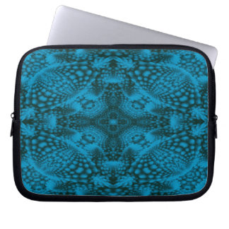 Black And Blue Colorful Neoprene Laptop Sleeves