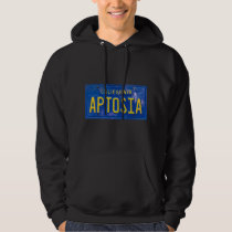 Black and Blue In Aptosia Hoodie