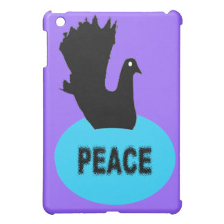 Black and Blue Peace Dove  Cover For The iPad Mini