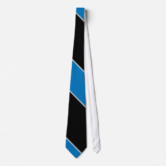 Black and Blue Striped II Tie