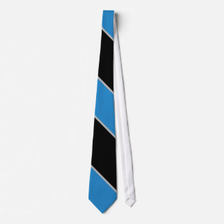 Black and Blue Striped III Tie