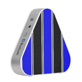 Black and Blue-Striped Pieladium Speaker