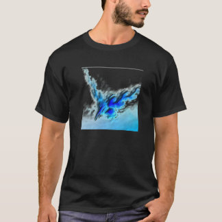 Black and blue t T-Shirt