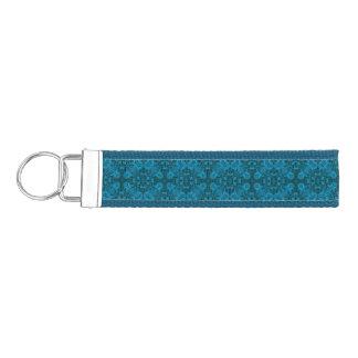 Black And Blue Wrist Strap Keychains