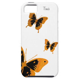 Black and Brown Butterflies iPhone 5 Case