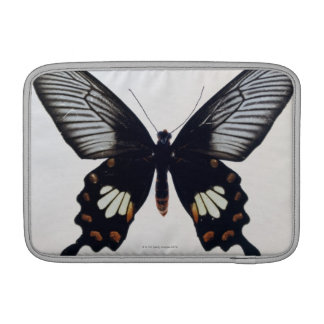 Black and brown butterfly MacBook air sleeve