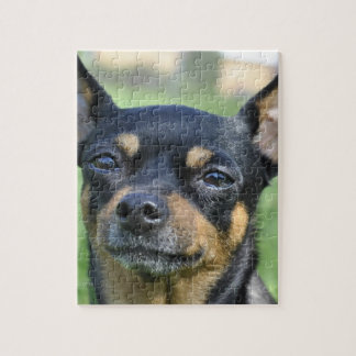 Black and Brown Chihuahua Puzzle