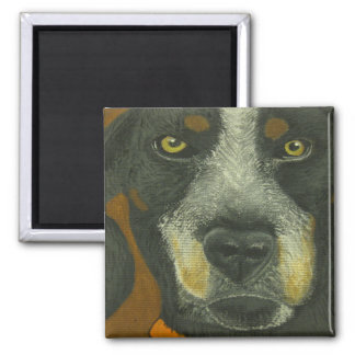 Black and Brown Dog Magnet