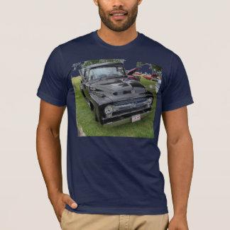 Black and chrome vintage pickup truck T-Shirt