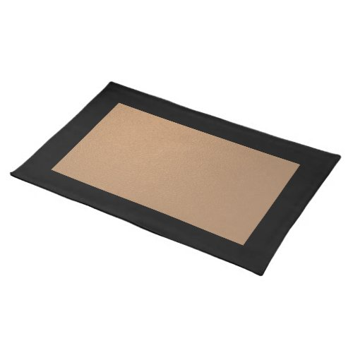 Black and Copper Placemat