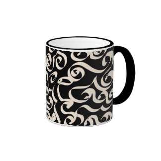 Black and Cream Mug