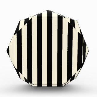 Black and Cream Stripes Award