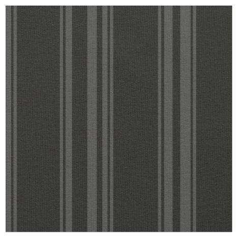 Black and dark grey striped fabric