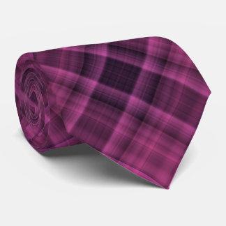 Black and dark magenta neck tie