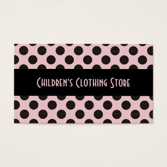 Black and Eggshell Polka Dots Cards