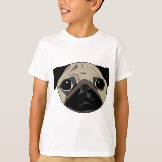 Black and Faun Pug T-Shirt