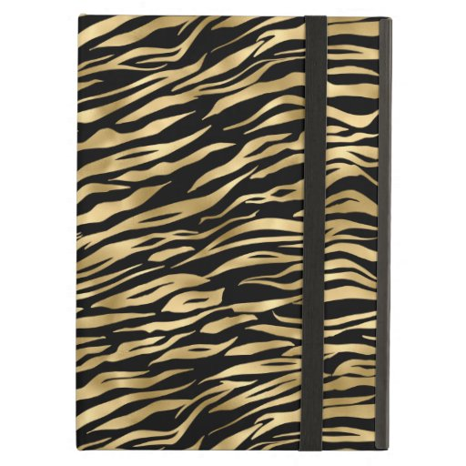 Black and gold animal abstract # 1 case for iPad air