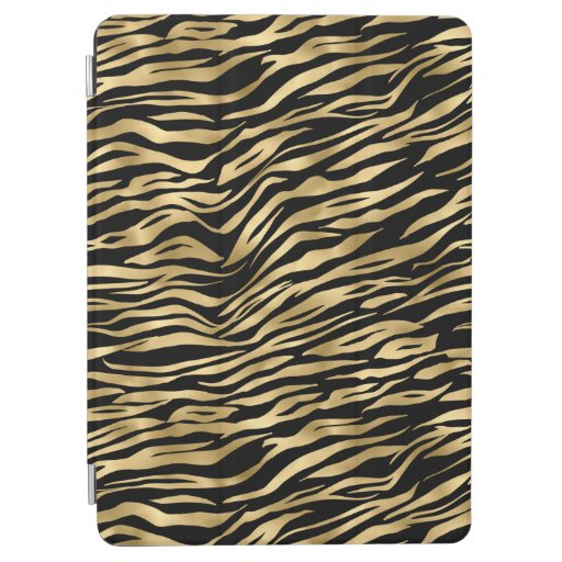 Black and gold animal abstract # 1 iPad air cover