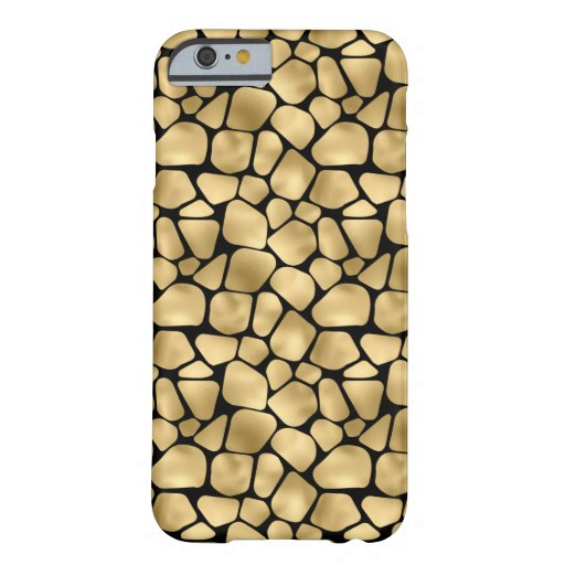 Black and gold animal abstract # 3 barely there iPhone 6 case