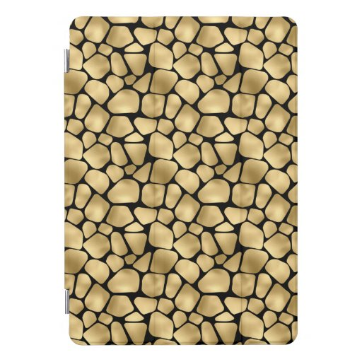 Black and gold animal abstract # 3 iPad pro cover