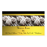 Black and Gold Chocolate Business Card