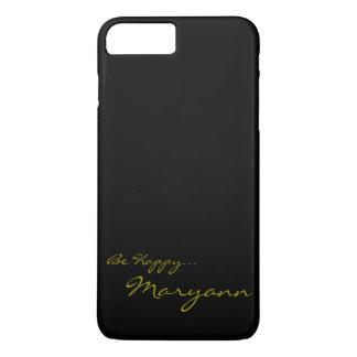 Black and Gold Custom iPhone 7 Cov iPhone 8 Plus/7 Plus Case