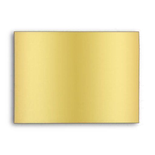 Black and Gold Glitter Envelope for 5x7 Size Stock | Zazzle